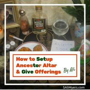 How to Setup Ancestor Altar and Give Offerings