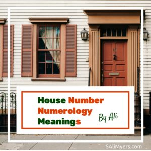House Number Numerology Meanings