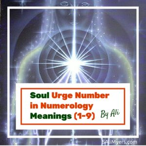 Soul Urge Number in Numerology Meanings