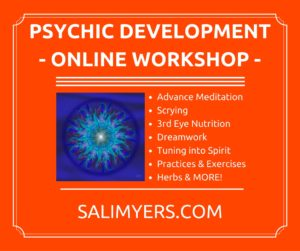 Psychic Development Online Workshop