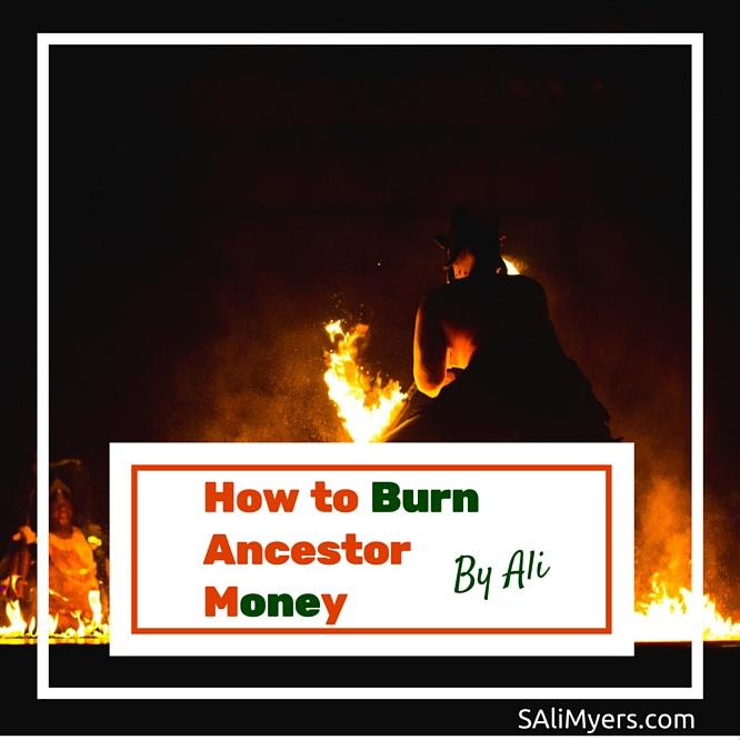 How To Burn Ancestor Money Joss Paper